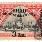 (I.B) Iraq Postal : British Occupation : 3a on 1½pi (State Service)