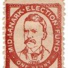 (I.B) Cinderella Collection : Mid-Lanark Election Fund 1d