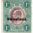 (I.B) Swaziland Revenue : Duty 1/-