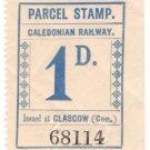 (I.B) Caledonian Railway : Parcel 1d (Glasgow)