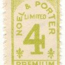 (I.B) Jersey Cinderella : Noel & Porter Trading Stamp 4d