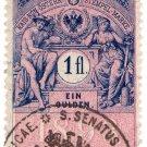 (I.B) Austria/Hungary Revenue : Stempelmarke 1fl