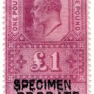 (I.B) Edward VII Revenue : Probate £1