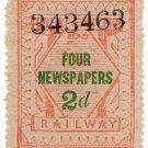 (I.B) Great Eastern Railway : Newspapers 2d