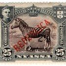 (I.B) Portugal Postal (Colonial) : Nyassa 2c on 25r OP