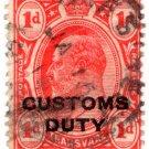 (I.B) Transvaal Revenue : Customs Duty 1d