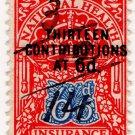 (I.B) George V Revenue : National Health & Insurance 6/6d
