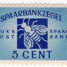 (I.B) Netherlands Revenue : Post Office Savings Bank 5c