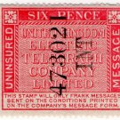 (I.B) United Kingdom Electric Telegraph Co : Message 6d