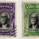 (I.B) Liberia Postal : Registered 10c