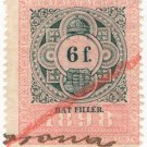 (I.B) Austria/Hungary Revenue : Stempelmarke 6f