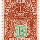 (I.B) George V Revenue : National Health & Insurance 1½d