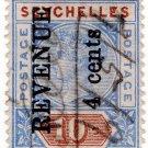 (I.B) Seychelles Revenue : Internal Revenue 4c on 10c OP