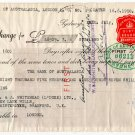 (I.B) George VI Revenue : Foreign Bill £24 6/- (+ Australia NSW £60 5/6d)
