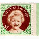 (I.B) Cinderella Collection : National Savings - Princess Anne 6d (1954)