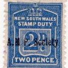 (I.B) Australia - NSW Revenue : Stamp Duty 2d (AMPS pre-cancel)