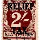 (I.B) Australia - NSW Revenue : Relief Tax 2/-
