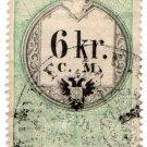 (I.B) Austria/Hungary Revenue : Stempelmarke 6kr