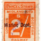 (I.B) London Midland & Scottish Railway : Marine Department 2/- (Dunoon)