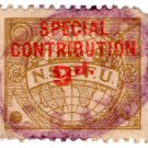 (I.B) Cinderella Collection : Seaman's & Fireman's Union 9d (special)