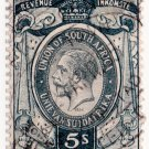 (I.B) South Africa Revenue : Duty Stamp 5/-