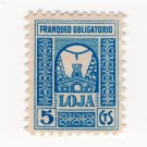 (I.B) Spain Cinderella : Civil War Charity Stamp 5c (Loja)