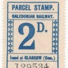 (I.B) Caledonian Railway : Parcel 2d (Glasgow)