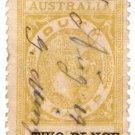 (I.B) Australia - South Australia Revenue : Stamp Duty 2d on 1d OP