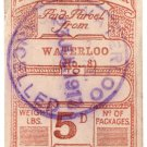 (I.B) London & South Western Railway : Parcels 5d (Waterloo)