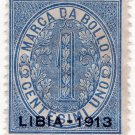 (I.B) Italy (Libya) Revenue : Marca da Bollo 1c (1913)