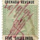 (I.B) Grenada Revenue : Duty Stamp 5/-