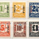 (I.B) New Zealand Revenue : Social Security Collection (1957-1958)