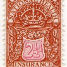 (I.B) George V Revenue : National Health & Insurance 2½d
