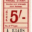 (I.B) Dundee & Arbroath Joint Railway : Parcel 5/-