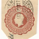 (I.B) Gold Coast Postal : Registered Post 3d