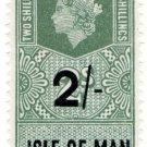 (I.B) Elizabeth II Revenue : Isle of Man 2/- on 2/- OP