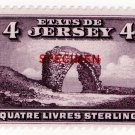 (I.B) Jersey Revenue : Duty Stamp £4