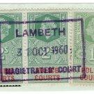 (I.B) Elizabeth II Revenue : Police Courts 5/- (Lambeth Magistrates Court)