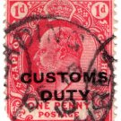 (I.B) Cape of Good Hope Revenue : Customs Duty 1d