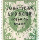 (I.B) QV Revenue : Notarial Stamp 1/- (John Venn & Sons)