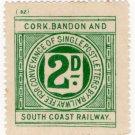 (I.B) Cork Bandon & South Coast Railway : Letter 2d