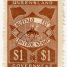 (I.B) Australia - Queensland Revenue : Buffalo Fly $1