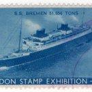 (I.B) Cinderella Collection : London Stamp Exhibition 1939 (SS Bremen)