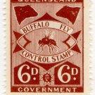 (I.B) Australia - Queensland Revenue : Buffalo Fly 6d