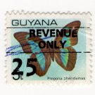 (I.B) British Guiana (Guyana) Revenue : Duty 25c on 5c OP