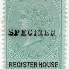 (I.B) QV Revenue : Register House Scotland 1/-