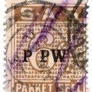 (I.B) South Africa Railways : Parcel Stamp 6d
