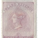 (I.B) QV Revenue : Inland Revenue 3d Lilac (SG F10)