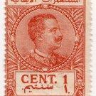 (I.B) Italy (Libya) Revenue : Duty Stamp 1c (1916)