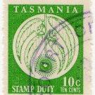 (I.B) Australia - Tasmania Revenue : Stamp Duty 10c